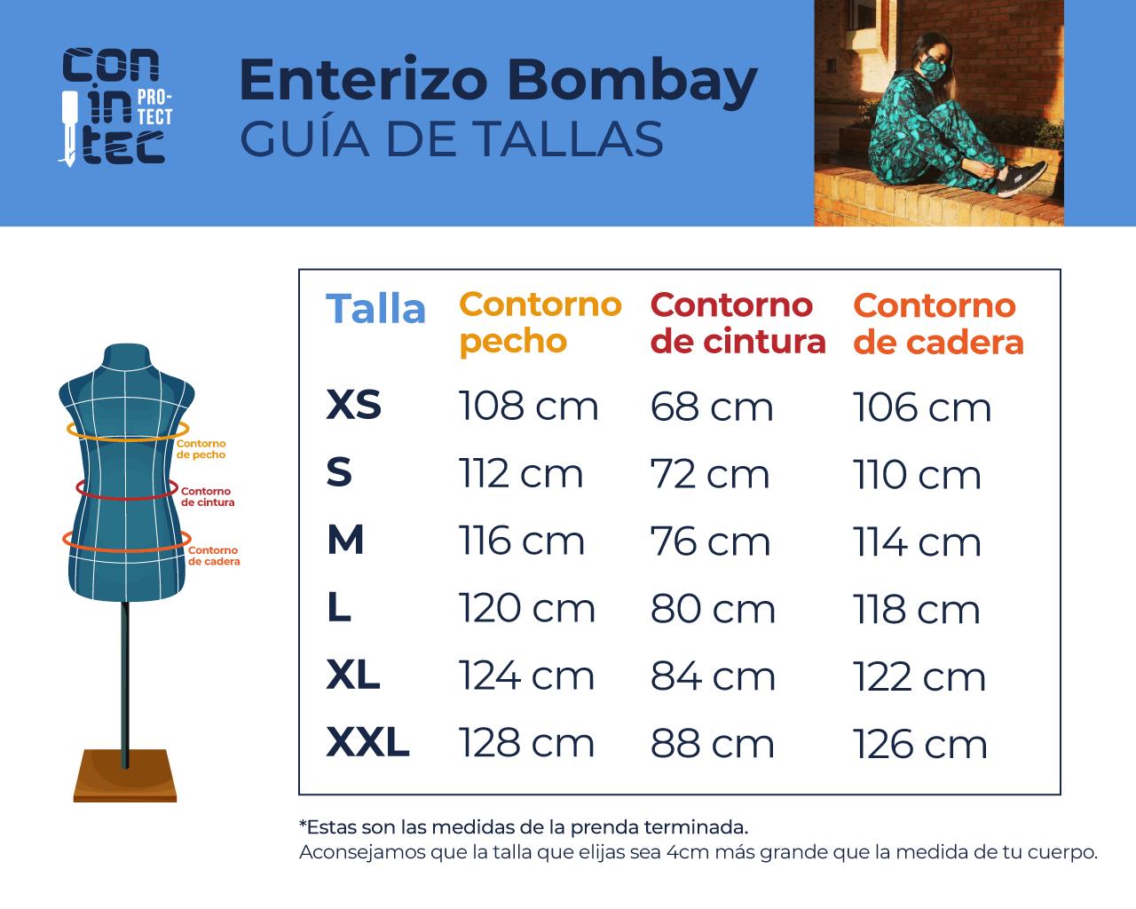 Guía de Tallas – Bombay